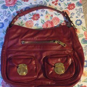 A rosy red mark Jacobs bag